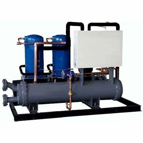 철 FRP 및 연강 수냉식 스크롤 칠러 (다중 압축기 포함), 산업용, Rs 500 / 개 |  아이디 : 19150338088
