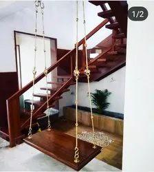 Wooden Oonjal Swing