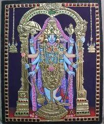Dhasavathara Perumal Tanjore Painting