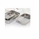 Stainless Steel Home Baking Tray Rectangular