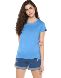 Ladies Cotton T Shirts, Size: M and L