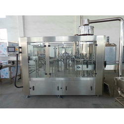 40 BPM Rinsing Filling Capping Machine / Water Bottle Filling Machine