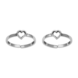 SHTR0051 925 Sterling Silver  Toe Ring