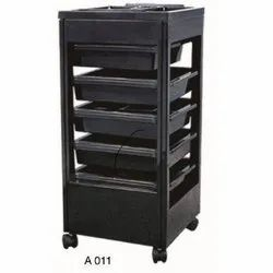 RBI-A011 Plastic Salon Trolley