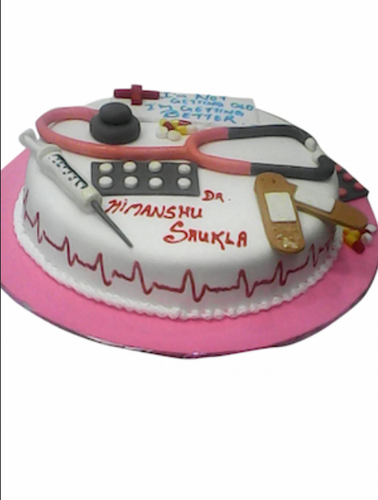 Doctors Cake at Rs 1700 kilogram Birthday Cakes Huckleberrys