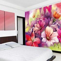 Bedroom Flower Wallpaper