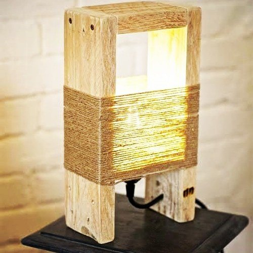 Cfl Handmade Wooden Table Lamp Rs 400 Piece Tawa One Wood Handicrafts Id 20307481033