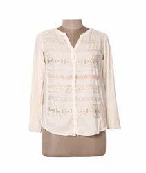 Ladies Sequinc Shirt