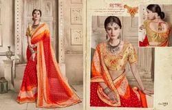 Kessi Bandhej Vol5 Saree