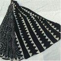 Black N White Cotton Saree