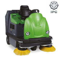 IPC Ride On Floor Sweeper, Model: 1404 DP
