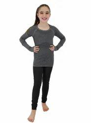 Churidar Black Girl's Legging, Size: Large