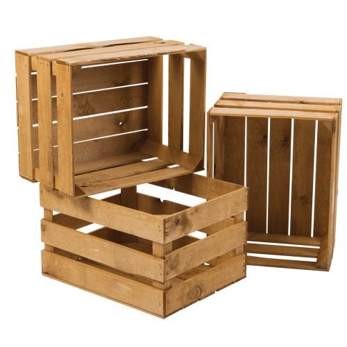 Rectangular Wooden Crate at Rs 800/piece Wooden Storage Crate ID: 2680892848