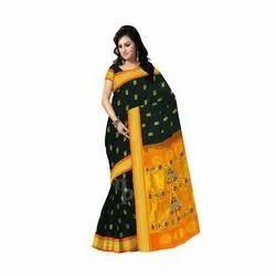 d594e0c9609 Party Wear Zardozi Work Tussar Silk Ladies Saree