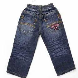 Mickey N Johny Casual Wear Kids Casual Denim Jeans, Size: Hand Wash, Machine Wash