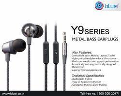 Y - 9 Series Metal Bass Earplugs