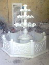 Marble Fountain With Pond