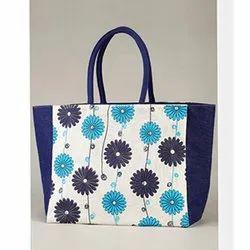 Floral Printed Ladies Handbag