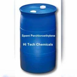 Spent Perchloroethylene