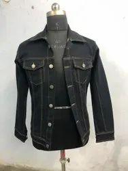 Full Sleeve Casual Jackets Mens Denim Jacket