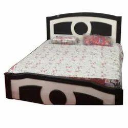 Wooden Black Storage Bed