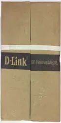 D-Link Cat 6e Ethernet Cable, Cable Size: 100m