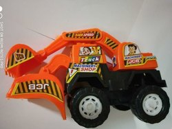 Plastic Kids Car Toys JCB 7712