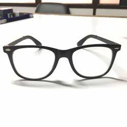 Male Fancy Sunglasses White Transparent Glass Goggles, Size: Medium Size