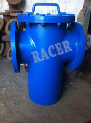 Flanged End CI Basket Strainer