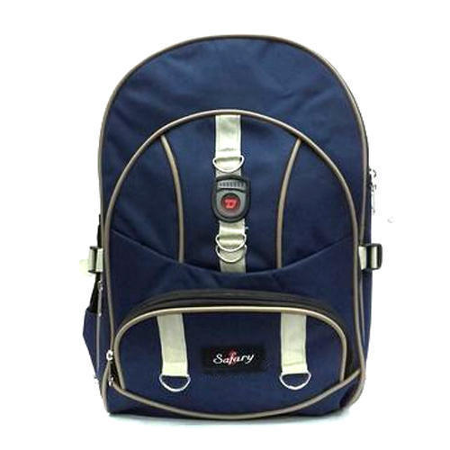 Safary Polyester Stylish College Bag, Size: Medium