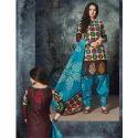 Ladies Salwar Suit Dress Material
