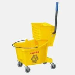 Single Mop Wringer Trolley - 32 L
