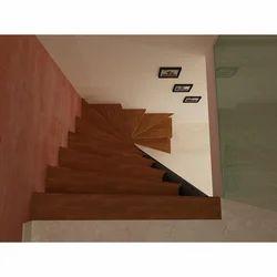 Steel & Wood Designer Mezzanine Staircase
