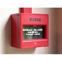 Red Automatic Fire Alarm System