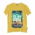 Graphic Printed Round Neck T Shirt