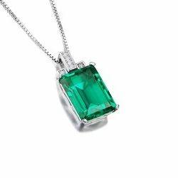 Natural Emerald Pendant (Panna)