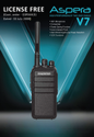 Aspera License Free Walkie Talkie