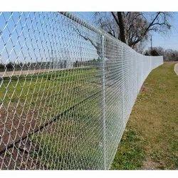 AKA Silver Chain Link Mesh Fencing