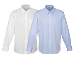 AiMSPACE UNIFORMS Cotton Mens Premium Corporate Shirts with Your Logo