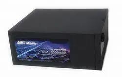 Amec Mobility 48 V Solar Battery, Capacity: 72ah, 48v
