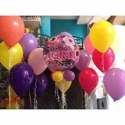 PVC Festival Colourful Theme Balloons Party