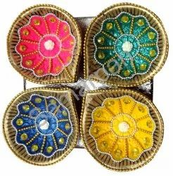 Golden Stone Diya 7092004891404