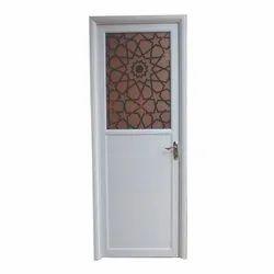 Hinged Aluminum Bathroom Door, Size/Dimension: 2300 X 800 X 35 Mm (h X W X D)