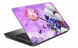 Dew Dropped Rose Laptop Skin