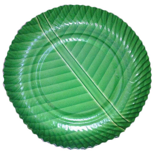 Paper And Green And Banana Leaf Design Paper Plate  sc 1 st  IndiaMART & Paper And Green And Banana Leaf Design Paper Plate Rs 650 /pack ...