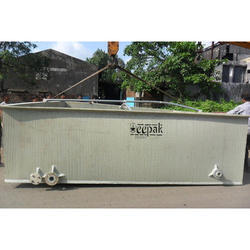 Spiral PP Rectangular Storage Tank