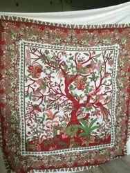 Mandala Square Bohemian Round Tapestry Beach Towel Boho