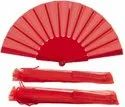 Chinese Hand Made Cloth Fan For Role Play And Party
