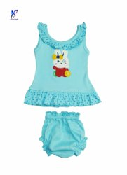 BABY GIRL FROCK WITH PANT