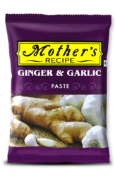 Mother's Ginger Garlic Paste, Packaging Size: 200 g, Packaging Type: Packets